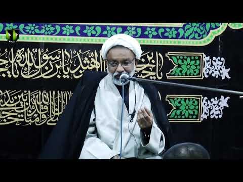 Majlis -e- Aza   Moulana Shahid Raza Kashfi   18th Muharram 1443/2021   Urdu
