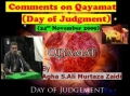 24Nov09-Comments on Qiayamat by Agha Syed AMZ-Urdu