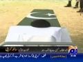 Funeral Procession for Martyrs of Ashura Blast - GeoTV Report - 29Dec09 - Urdu