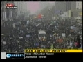 Iran Anti-Riot Protest - YOU WILL NOT SEE IN ZIONIST MEDIA - Dec09 - English