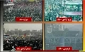 Islamic Revolution Supporters during Ahmadinejad Speech - 11Feb10 - Farsi