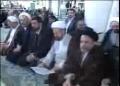 Wife of Imam Khomeini- Janaza prayer of the dead led by Ayatollah Khamenei - All Languages