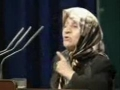 The Lady who made the Iranian President Cry - Farsi