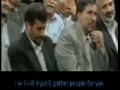 [ENGLISH] The Lady who made President Ahmadinejad Cry - Farsi sub English
