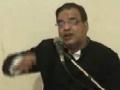 Shahadat-e-Syeda Fatima Zahra (s.a) - Maulana Abid Bilgirami - Urdu Majalis