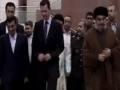 Ahmadinejad  Journey to syria (meeting nasrollah & asad) farsi