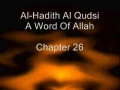 Al Hadith Al Qudsi Chapter 26 - English
