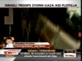 Attack on Gaza convoy - Talat Hussain missing - 31May2010 - English