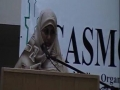 CASMO World Womens Day 2010 - Challenges of Muslim Women in the West - Sr Latifa Samji - English