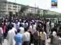 Protest in Karachi during funeral of innocent Shia killed by Terrorists - 11Jun2010 - Urdu