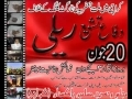 دفاع تشیع ریلی We condemn target killing - Karachi Pakistan - 20 June 2010 - Urdu Msg English