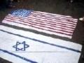 دفاع تشیع ریلی Burning flags of US and iSRAEL - Clear Message to Pakistan Government - Urdu