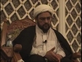 H.I. Maulana Baig - 11 Ramazan 2010 - Shaitaan and how he misguides Mankind - English