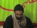 "[25]th Session - Greater Sins ""Arrogance Qibr"" Part4 by Agha HMR - Urdu"
