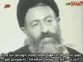 Shaheed Ayatollah Beheshti on the role of clerics and non-clerics - Farsi sub English