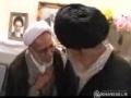 حضور رهبر انقلاب در منزل شهید حقانی - 30/07/1389 Farsi