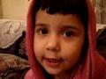 2 1/2 Years Old Daughter of Islam reciting Dua Faraj - Arabic