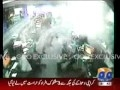 [Karachi Blast at CID Centre] - CCTV Footage of effects of the blast in an office 2 km away - 11Nov2010 - Urdu