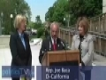 Congressman holds press conference on violent video games-English