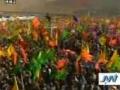 English news, Leader speech to 1 million basij