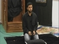 Salam by Br Hussain on Sahadat of Imam Zain ul Abideen as- 1-1-11 at Momin- Urdu
