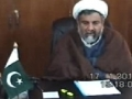 Interview with H.I. Allama Raja Nasir about MWM and Pakistan - 17 JAN 2011 - Urdu