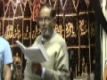 Noha - Shaam ka Bazaar - Abid-e-Bimaar - Jan 19 2011 - Windsor - Urdu