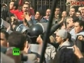 Dramatic video as thousands clash with Egypt riot police in Cairo - English