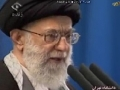[ARABIC - Addressing the Egyptians] خطبه های نماز جمعه تهران - Imam Khamenei (H.A) - 04Feb11