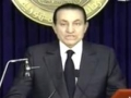 Egyptian Dictator Speech to Young Protestors (This could be his Last speech) - English
