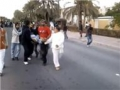 Bahrain Army Open Fire on Protesters - 18 feb 2011 - All languages