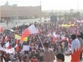 مسيرة الوفاء للشهداء Massive Rally of at least 600,000 Protesters in Bahrain - 22Feb11 - All Languages