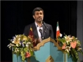 President Ahmadinejad on 5th Fadjr Poetry Festival جشنواره بين المللي شعر فجر - Farsi