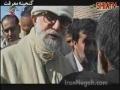 Sayyed Ali Khamenei (H.A) visting Bam after the earthquake - Farsi