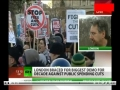 [March for the Alternative] 300000 protest in London, Intvw with John Rees Stop the war Coalition-26Mar2011 -English