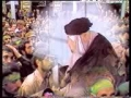 Imam Khomeini (r.a.) - Moharram Ashura azadari عزاءداری 2/3 - Persian