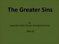 Audio Books - The Greater Sins - Part 8 - English
