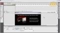 Reflective Glass Smooth Animated Portfolio Menu Showcase Flash CS3 CS4 - English