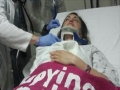 Brave Jewish woman beaten in Congress while protesting the speech of Netanyahu in US - Farsi English