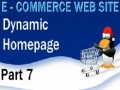 7 E Commerce Website Tutorial PHP MySQL Dynamic Home Page - English