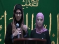 CASMO World Women Day 2011 - Opening Remarks by Sister Shizrah Hasnain and Sr Kawther Hamed - English