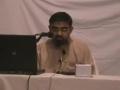 Day 1 - Seminar on Seerate Imam Ali A.S - H.I. Syed Ali Murtaza Zaidi - Nov 2005 - Urdu