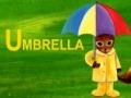 Alphabets - [U] is for Umbrella - English
