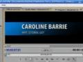 Premiere Pro CS2 CS3 Custom Titles Tutorial - English