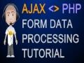 Ajax Tutorial Post to PHP File XMLHttpRequest Object Return Data Javascript - English