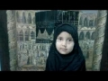 DUA E NAADE ALI  - Recited by 3 1/2 yr old SYEDEH SUSSAN ZARE.- Arabic