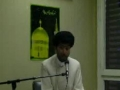 Bad actions destroy ur life  - Syed Mohammad Reza Jan Kazmi - Geneva 2011 mj 4 - English