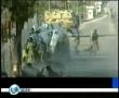 News 26th Jan 08 Palestinians entering Egypt 2 - English