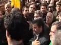 Ahmadinejad in Moharram Procession هيات عزاداران حسيني نهاد رياست جمهوري 2011 - Farsi