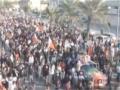 Third day of Bahrain clashes - Protest against Pro-America Bahraini Dictators - English